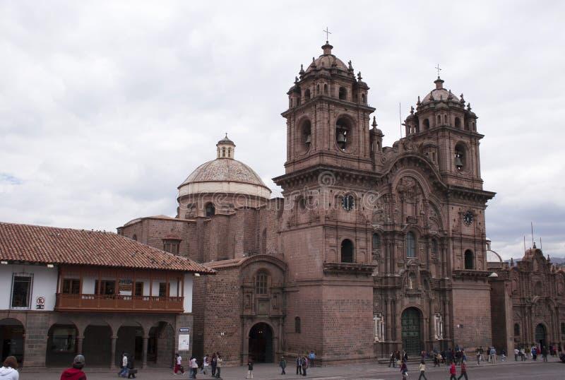 Église principale Cuzco Pérou de Santo Domingo photographie stock libre de droits
