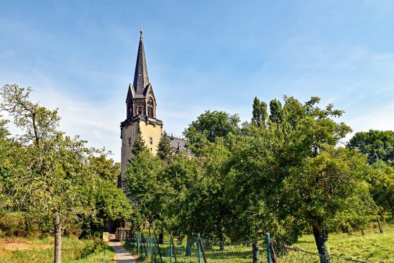 Église Radebeul de paix en Saxe/en Allemagne photos libres de droits