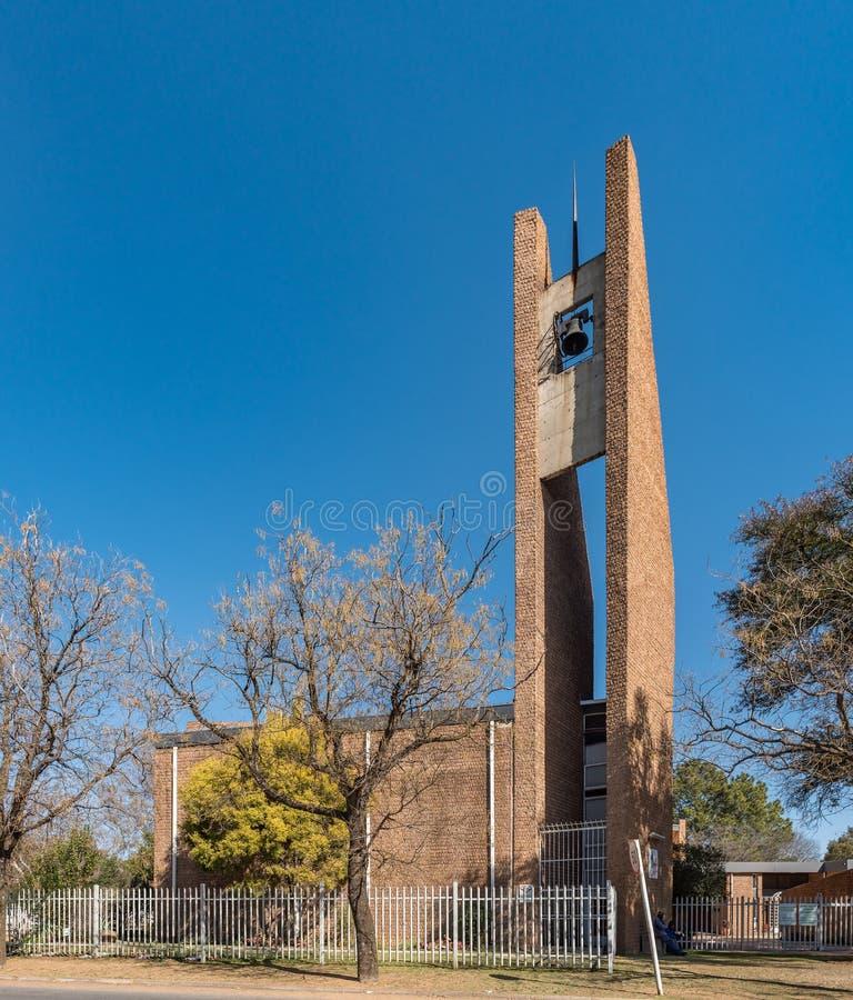 Église reformée par Néerlandais 4-Ankers dans Sasolburg photos libres de droits