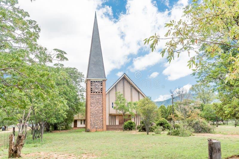 Église reformée par Néerlandais dans le Cookhouse photos libres de droits
