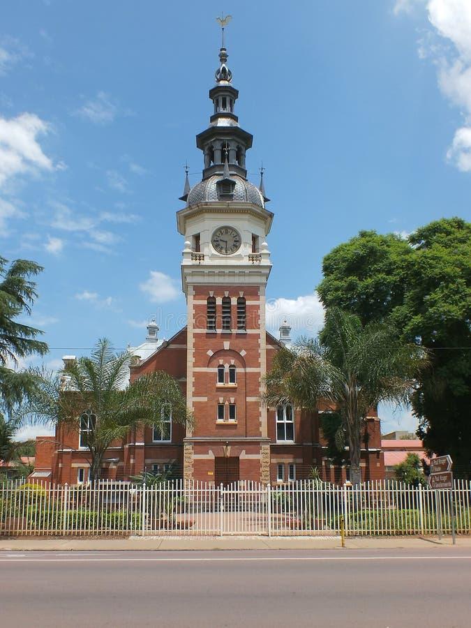 Église reformée par Néerlandais de Kruger photos stock