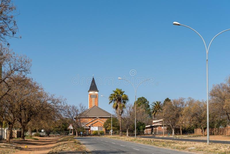 Église reformée par Néerlandais en Virginie dans l'état gratuit images libres de droits