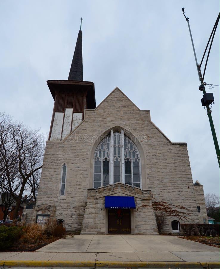 Église reprise hollandaise image stock