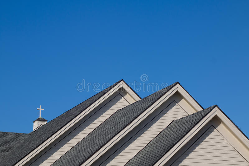 Église roof photos stock