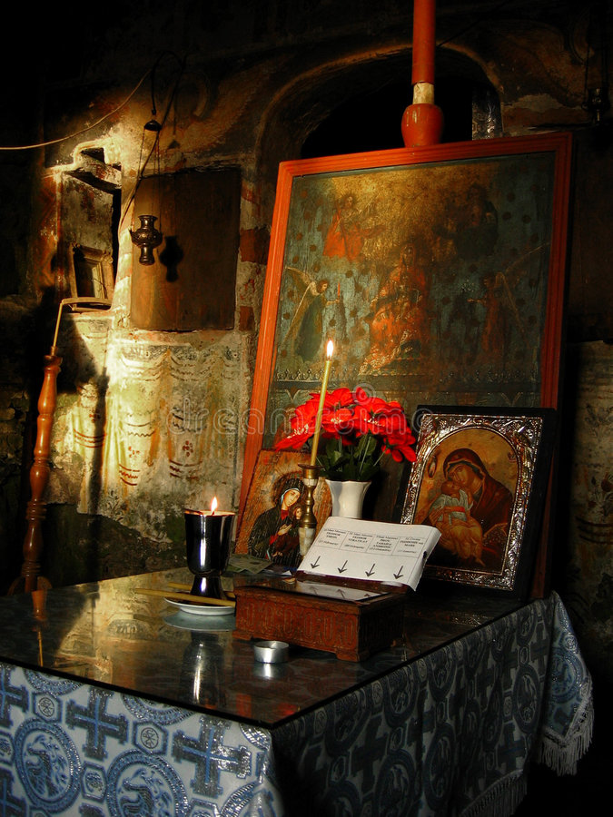 Église roumaine images stock
