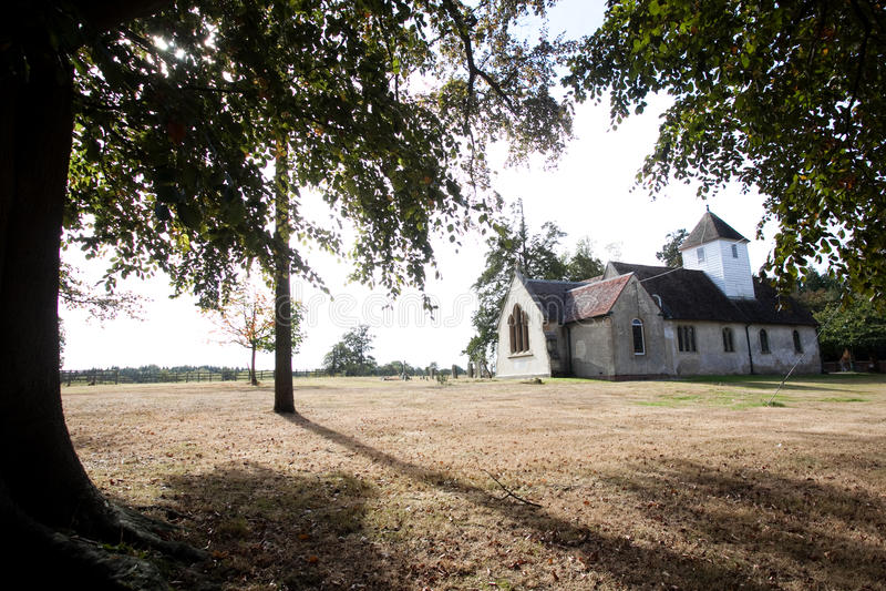 Église rurale images stock