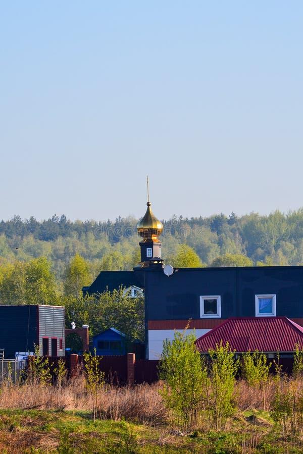 Église rurale en Russie Église rurale en Russie photo libre de droits