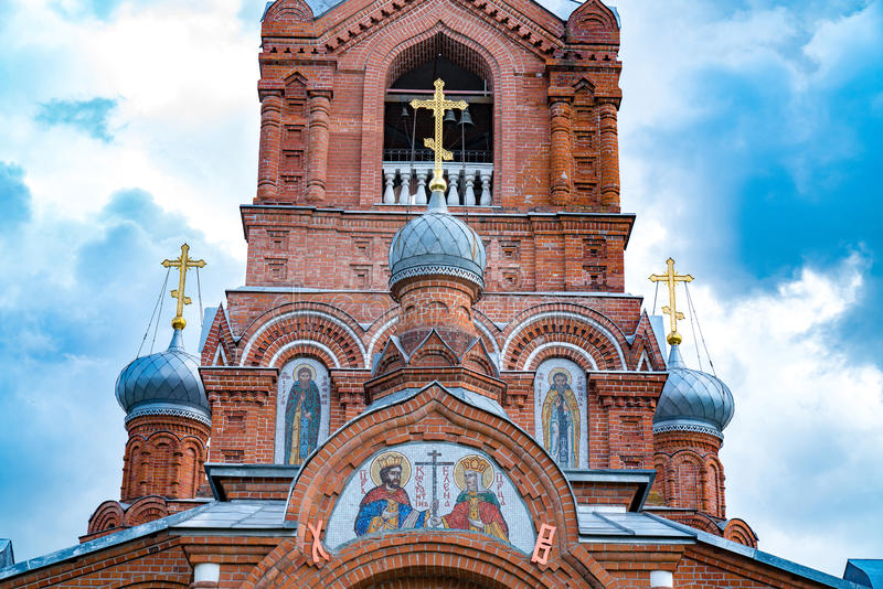 Église russe images libres de droits