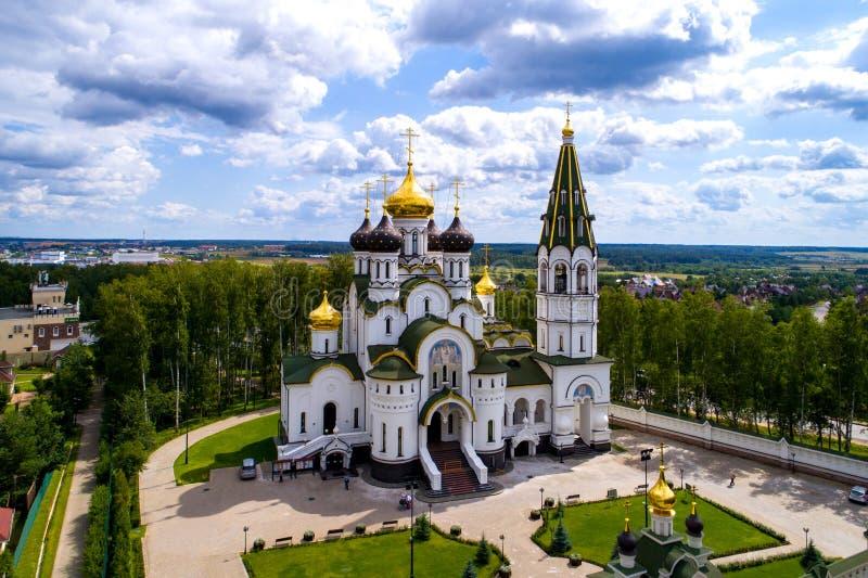 Église russe photographie stock