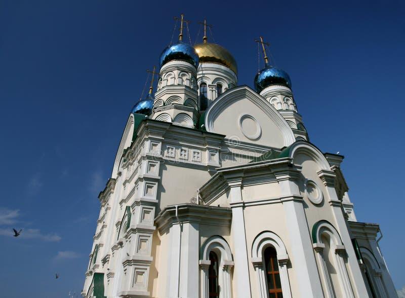Église russe dans Vladivostok photographie stock libre de droits