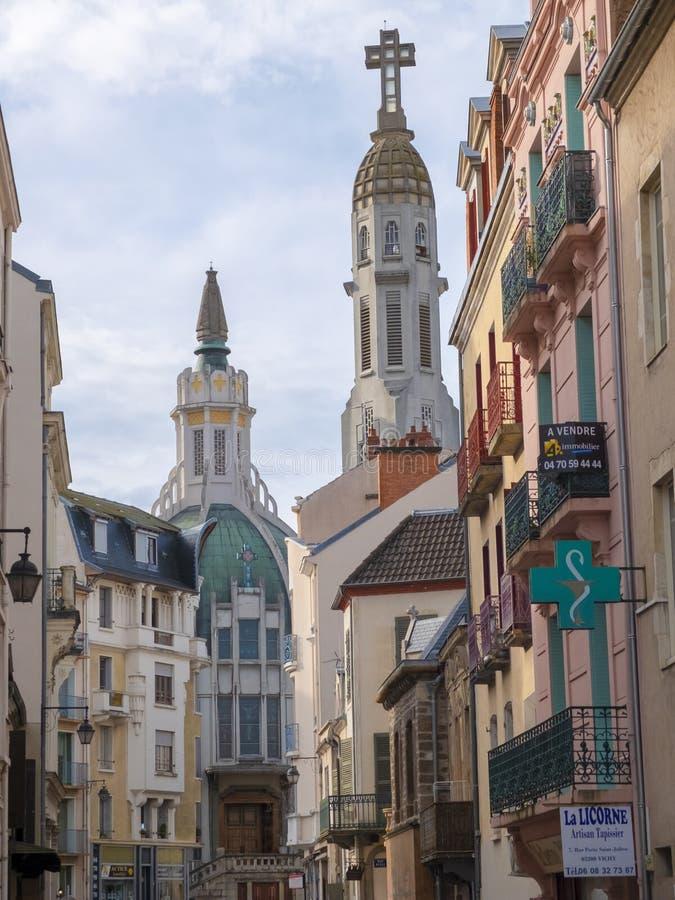 Église Saint-Blaise de Vichy photographie stock libre de droits