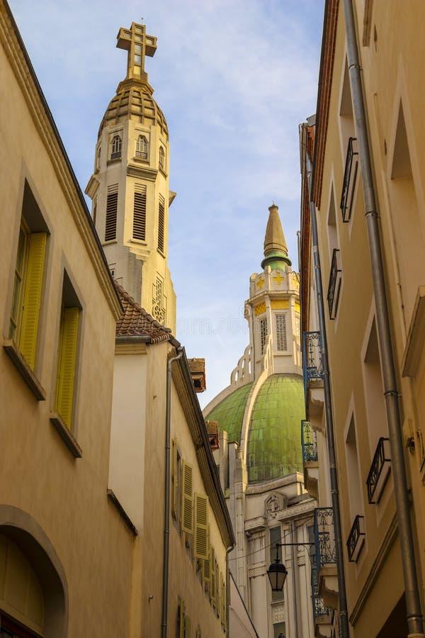 Église Saint-Blaise de Vichy image libre de droits