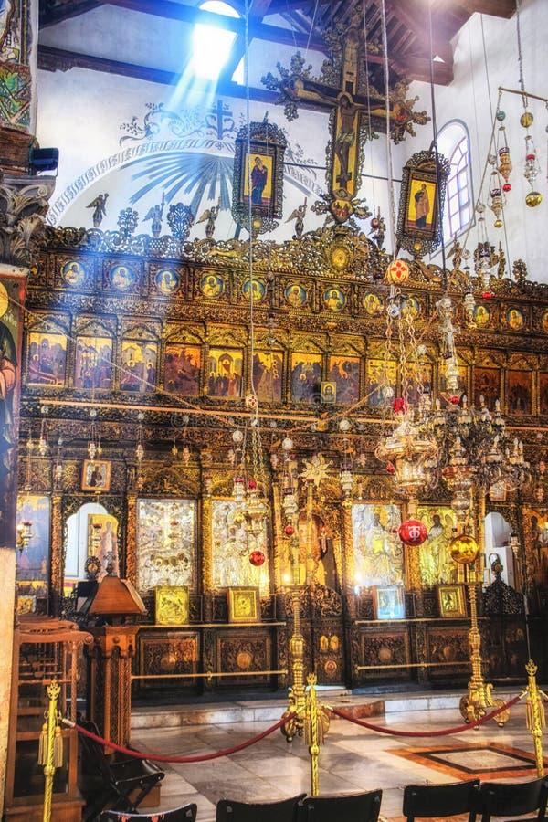 Église sainte de la nativité Bethlehem, Israël images libres de droits