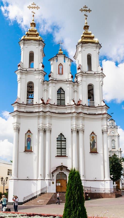 Église sainte de résurrection (Rynkova) Vitebsk photo libre de droits