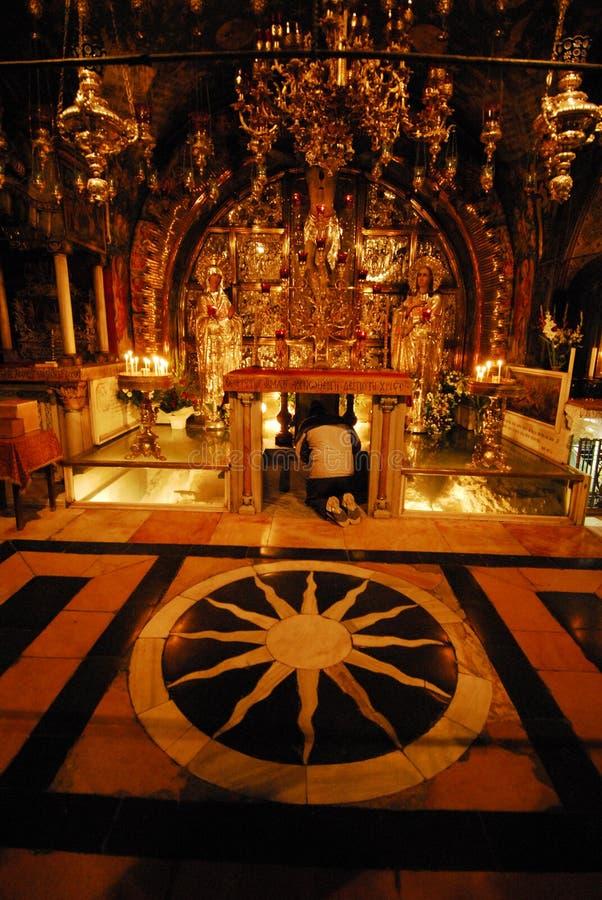 Église sainte de tombe images stock