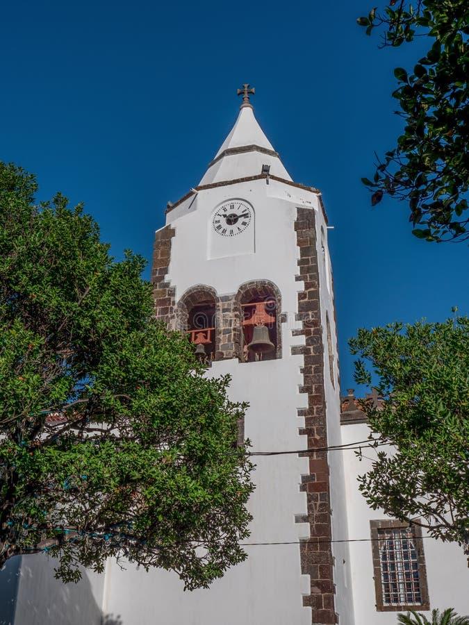 Église Santa Cruz, Portugal, Madère images stock