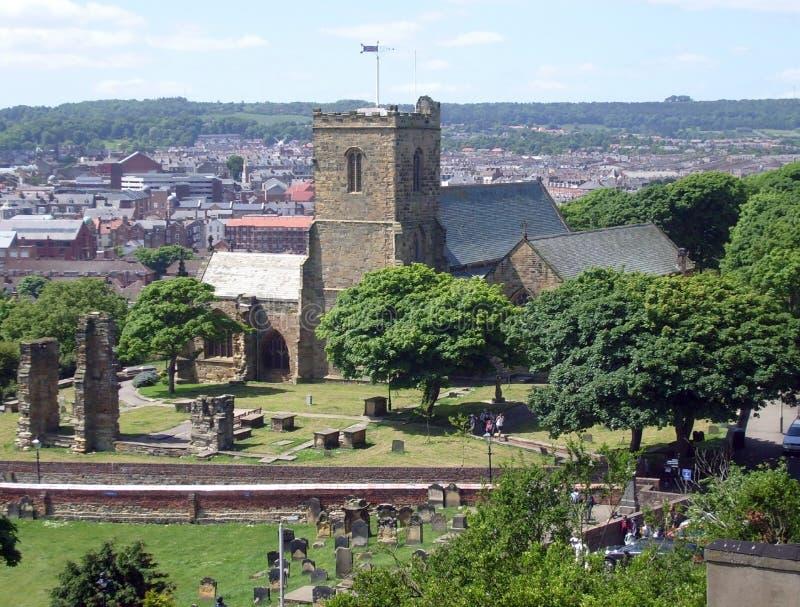 Église Scarborough de Marys de saint photo libre de droits