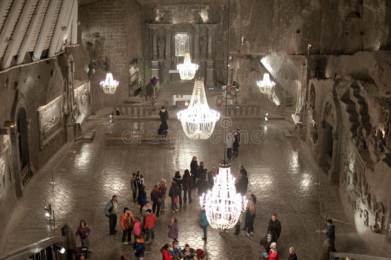 Église souterraine images stock