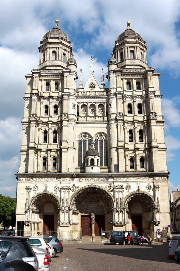 Église St-Michel à Dijon, France images stock