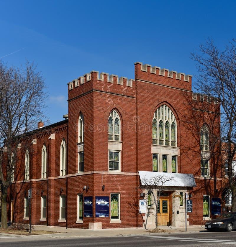 Église suédoise Chicago image stock