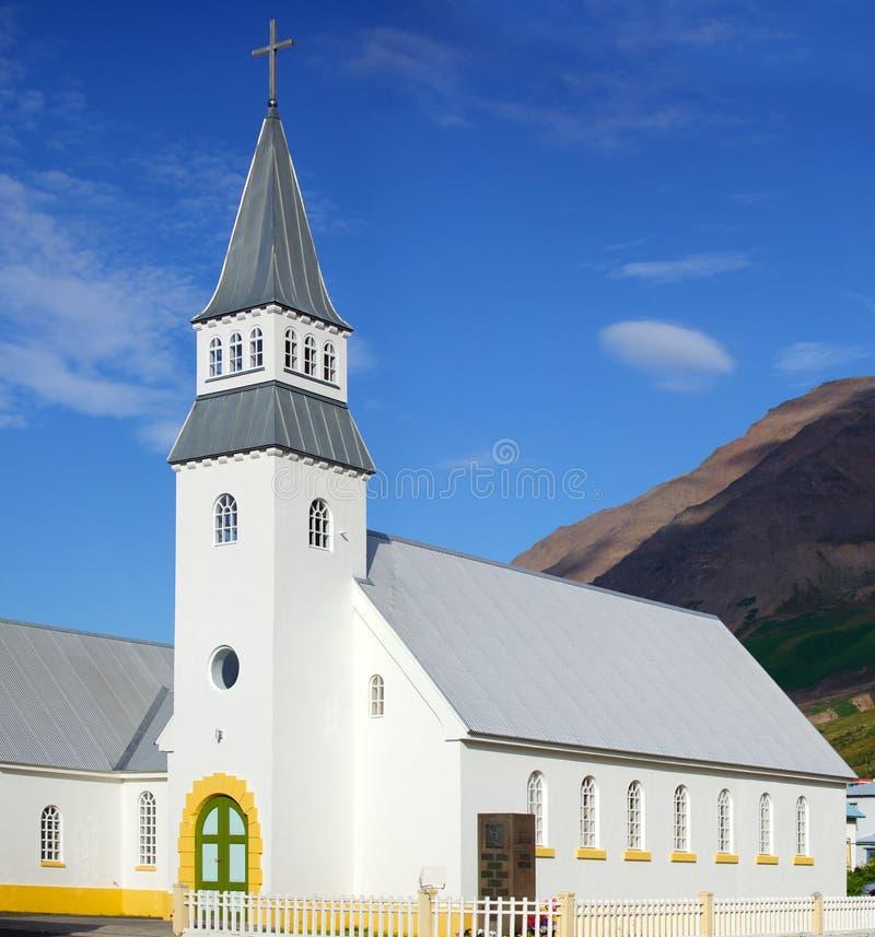 Église sur l'Islande photographie stock