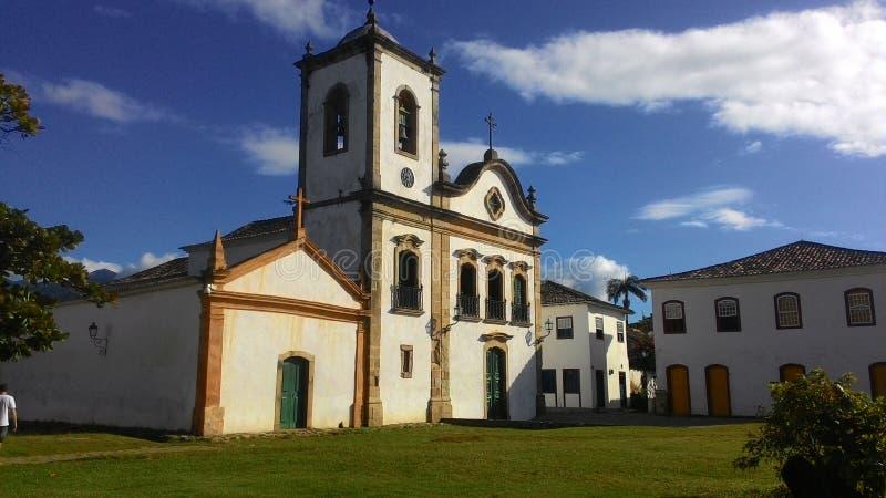 Église sur Paraty - RJ image libre de droits