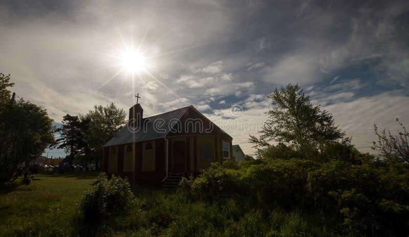 Église sur prince Edward Island image libre de droits