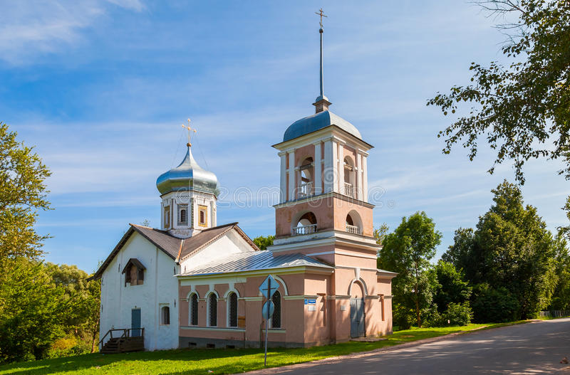 Église Trinity dans Velikiy Novgorod, Russie photo stock