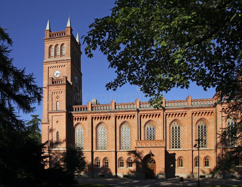 Église Trinity protestante dans Vaasa finland image stock