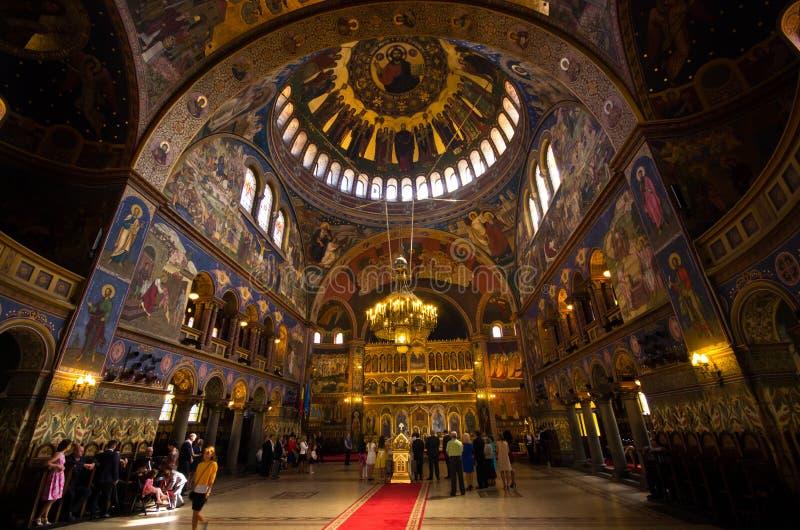 Église Trinity sainte à Sibiu, Roumanie images stock