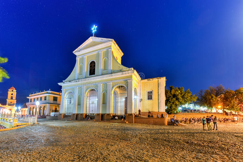 Église Trinity sainte - Trinidad, Cuba photos stock