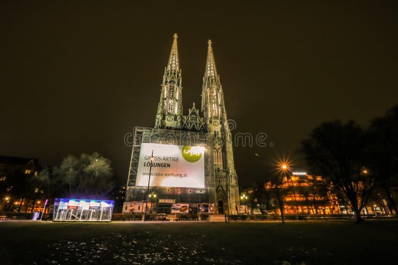 Église Vienne de Votiv image libre de droits