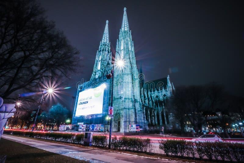 Église Vienne de Votiv photos libres de droits