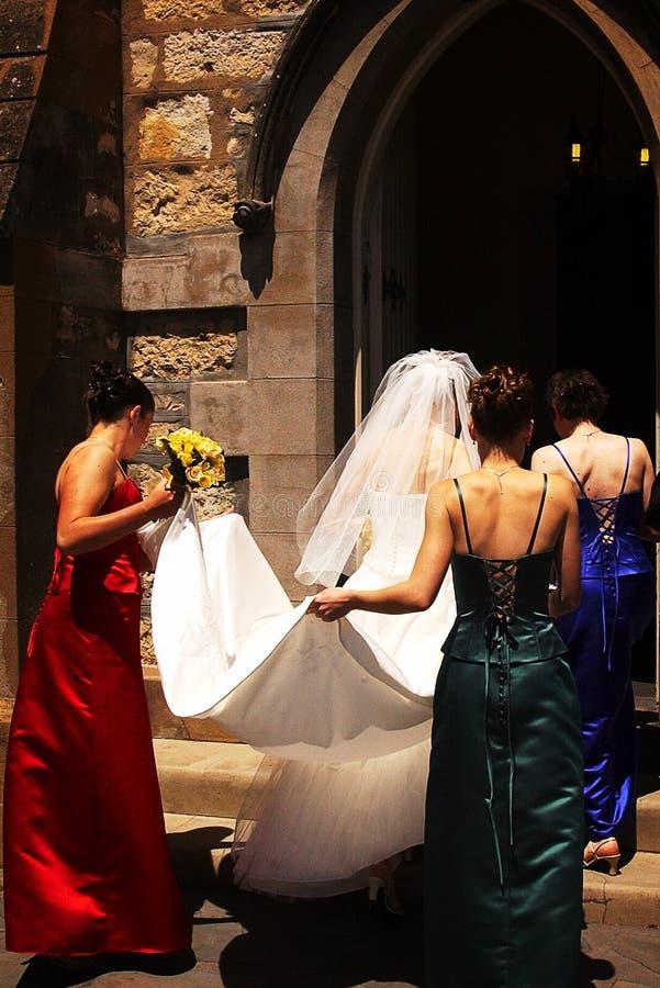 Église Wedding III images stock