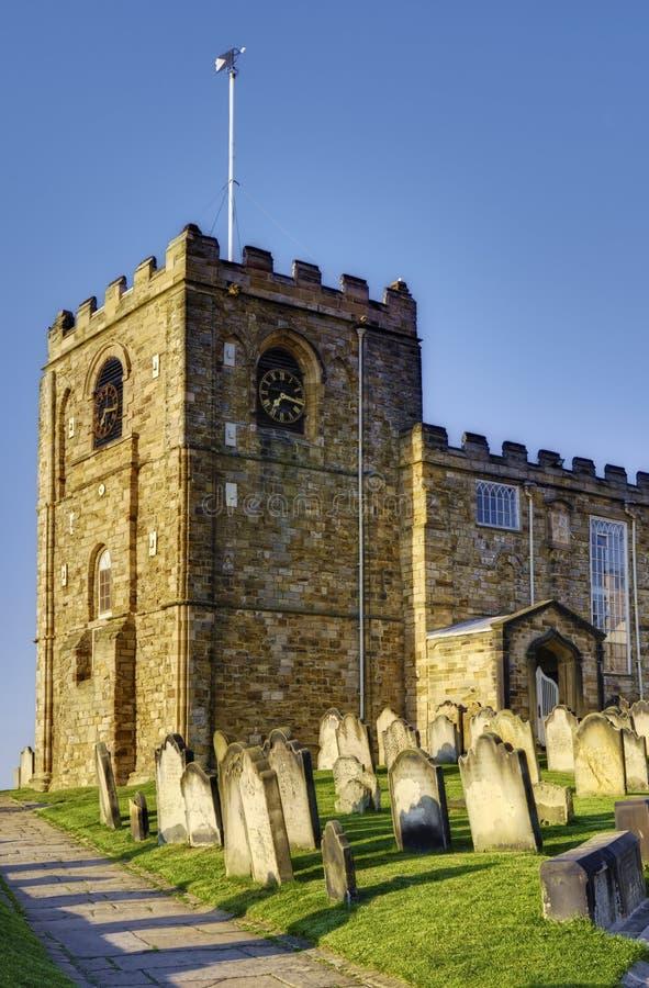 Église Whitby de Marys de saint photographie stock