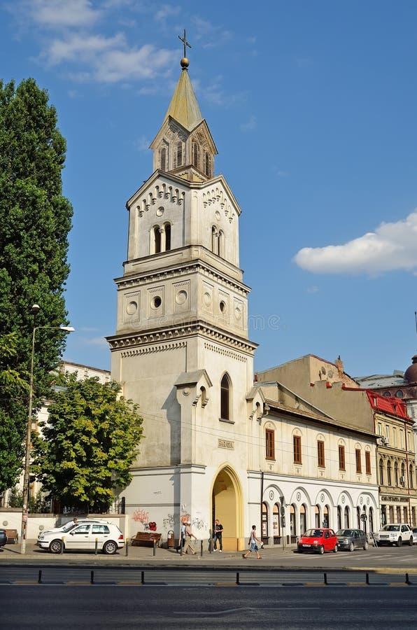 Églises catholiques romaines Baratia photos stock