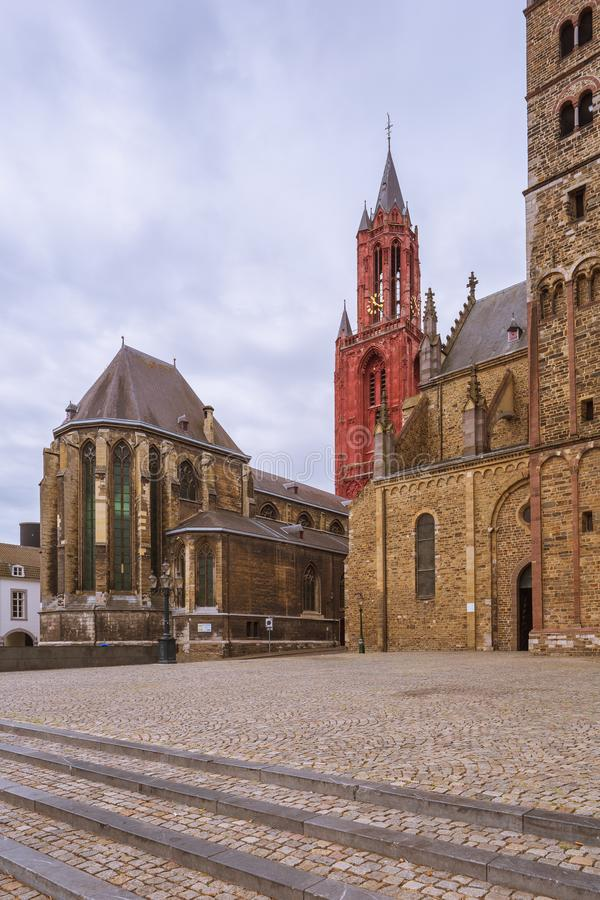 Églises de saint Servatius et Saint John photos libres de droits