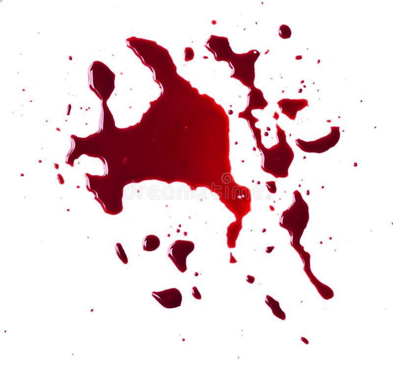 Égouttement de sang photo libre de droits