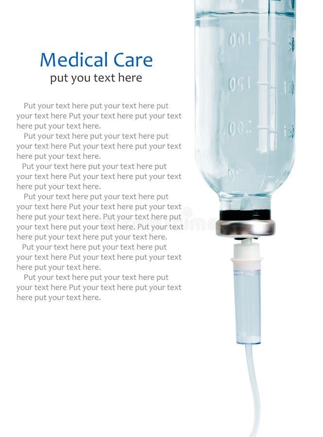 Égouttement intraveineux d'infusion photos stock