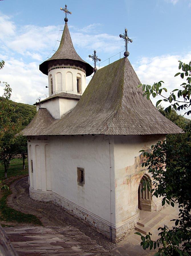 Égua de Stefan cel da igreja de Patrauti foto de stock royalty free