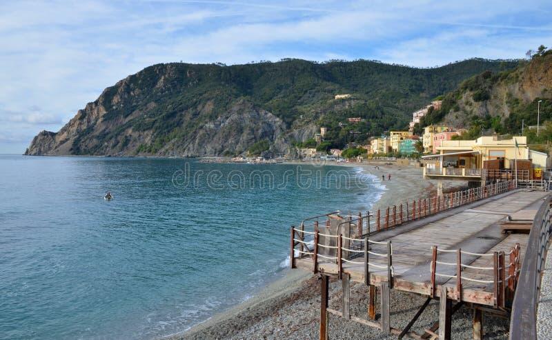 Égua do al de Monterosso, Ciqnue Terre, Itália imagens de stock