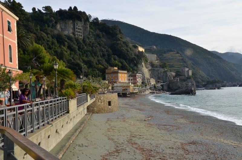 Égua do al de Monterosso, Ciqnue Terre, Itália fotografia de stock royalty free