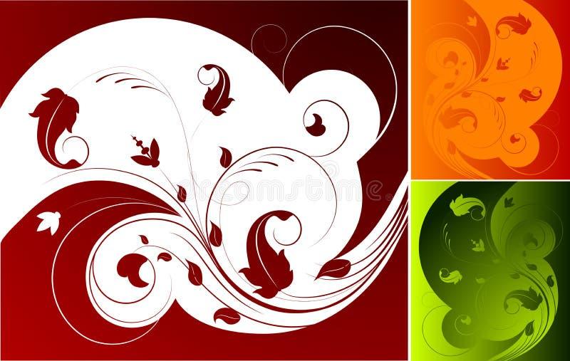 Élément abstrait de conception illustration stock