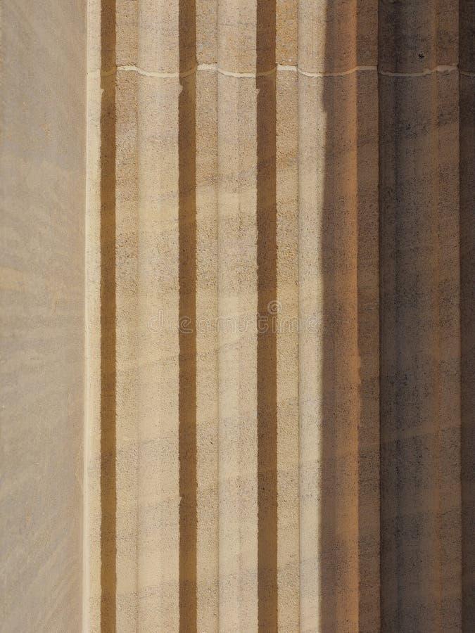 élément architectural de colonne doric de pilier photographie stock libre de droits