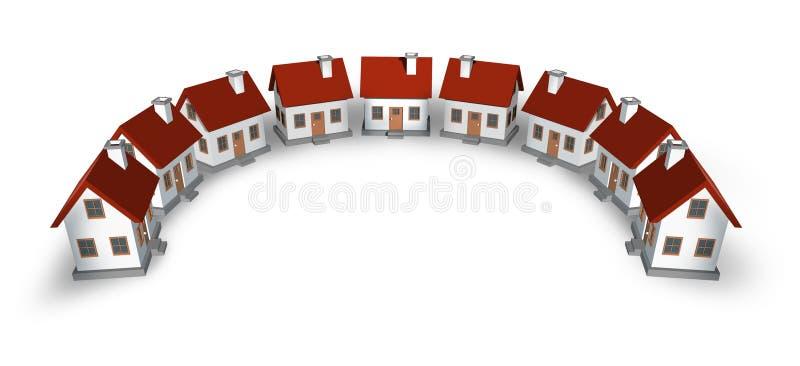 Élément de conception d'immeubles illustration libre de droits