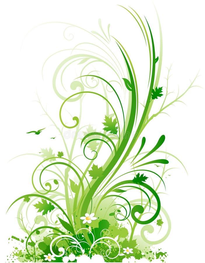 Élément de conception de nature illustration de vecteur