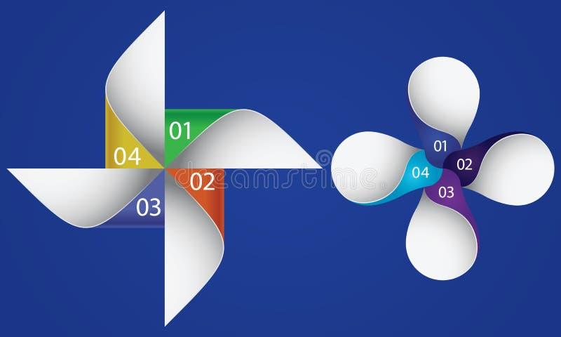 Élément de conception graphique d'infos illustration libre de droits