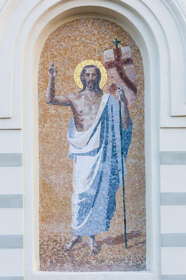 Élément de la mosaïque de l'église photos libres de droits