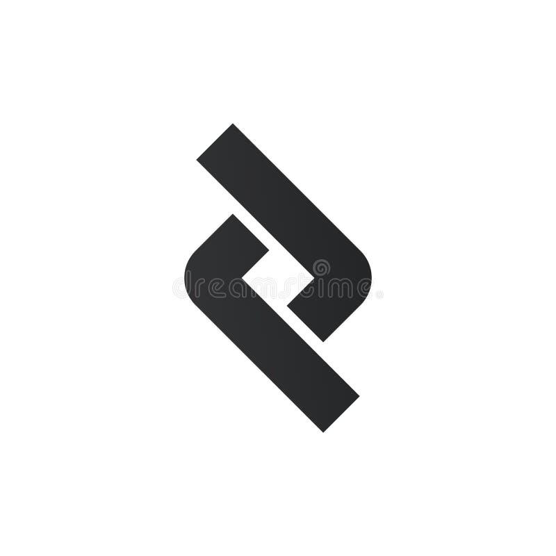 Élément de lien ou de conception de logo de connexion ?l?ments de conception graphique de vecteur pour votre logo de soci?t? Illu illustration de vecteur