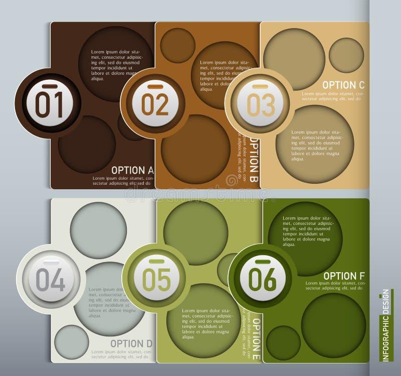Élément de vecteur pour la conception d'Infographic, la présentation et le diagramme, ABS photo libre de droits